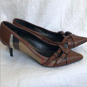 91bc54b4cf7 Women Burberry Kitten Heels on Poshmark